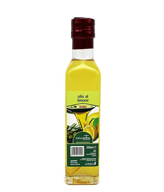 Olio extravergine di oliva aromatizzato al limone - Olio EVO