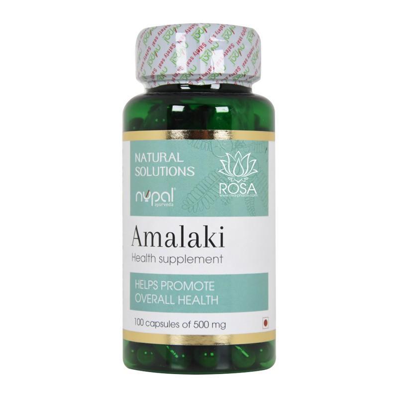 Амалаки (Amalaki Capsules, Nupal) - Антиоксидант, иммуномодулятор