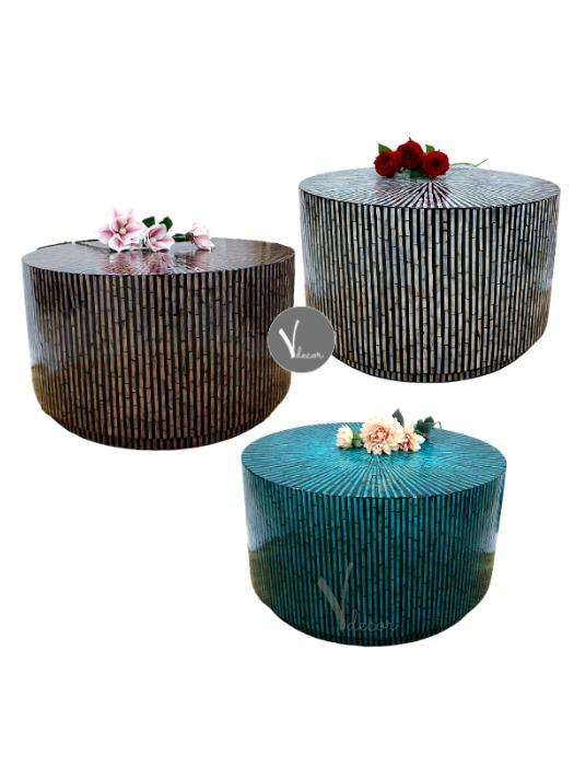 Stylish Mosaic Lacquer Coffee Table - Shop