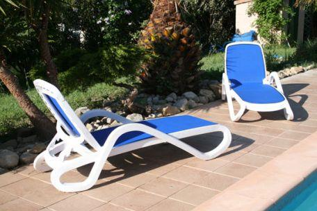 Bain De Soleil Alfa - Chaise Longue - Mobilier De Terrasse