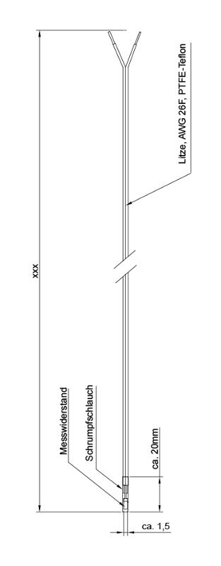 Wire WT   Pt1000 - Wire resistance thermometer