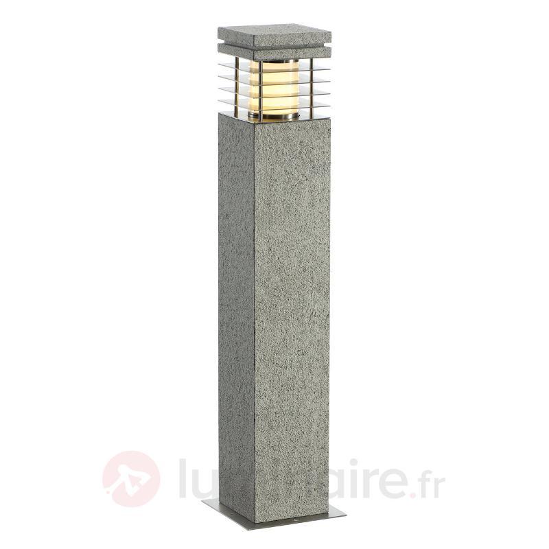 Borne lumineuse en grès ARROCK aspect granite - Toutes les bornes lumineuses