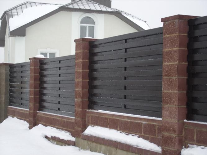 Забор - Забор деревянный 1008