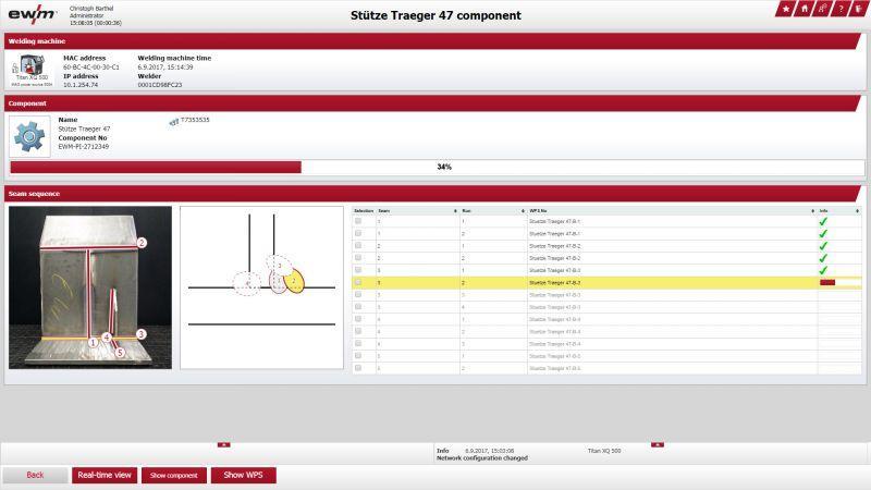 Xnet 2.0 système de gestion du soudage - Système de gestion du soudage