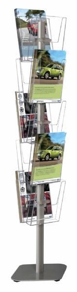 Brochure Sets - Structure Porte Brochures Multiside (10 pcs)