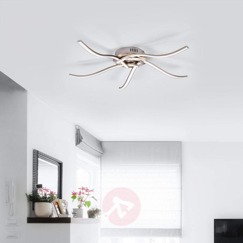 5-bulb LED ceiling light Rachel - indoor-lighting