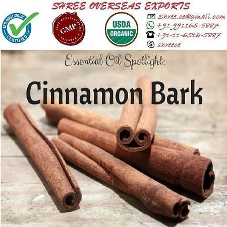 Organic Cinnamon Bark Oil  - USDA Organic
