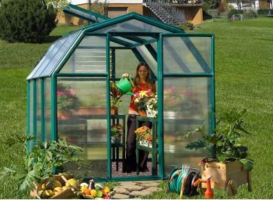 Serre de jardin en PVC - null