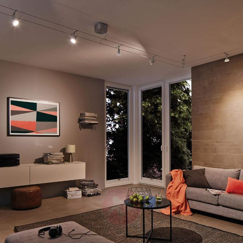 6-bulb cable lighting system set Sheela LED - Cable Lighting