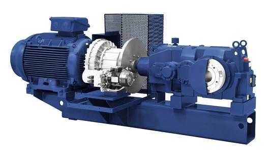 Hansen P4 Mehrstufig - Horizontal - Getriebe