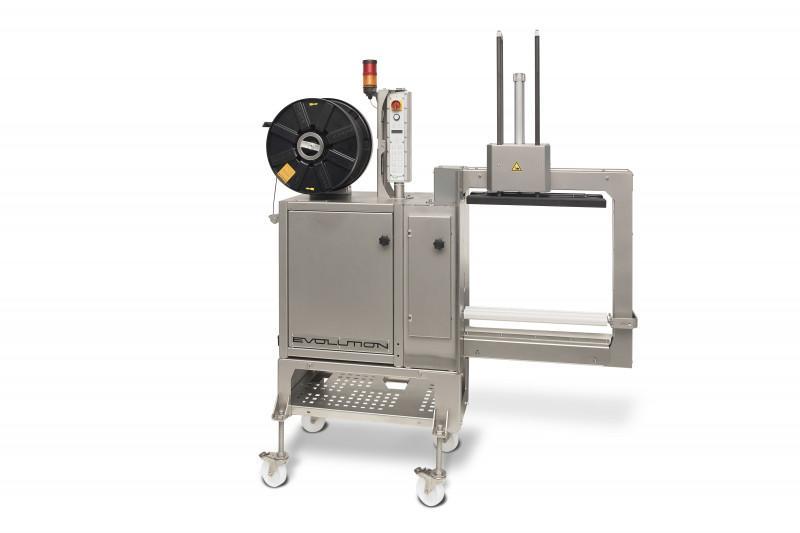Evolution SoniXs MS-6-VA - Machine cercleuse inoxydable latérale totalement automatique