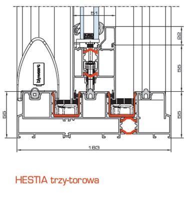 sliding-systems blyweert-aluminium hestia - aluminium-joinery
