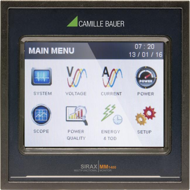 SIRAX MM1400 - Monitor with TFT-Display