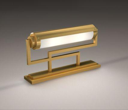 French art deco lamp - Model 234