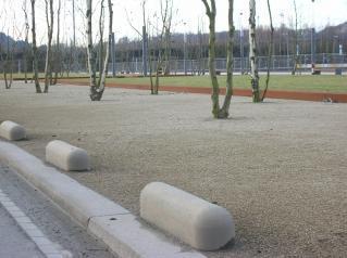 Bordsteine - Anfahrschutz