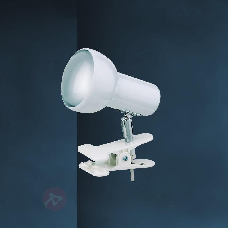 Lampe à pince EIFEL blanche - Lampes à pince