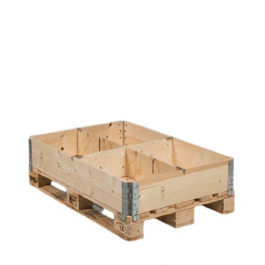 Pallet collar departer 1154 x 190 mm - with three cuttings