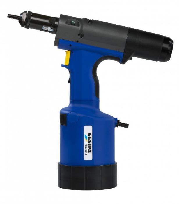 FireFox® 2 - Remachadora de tuercas con carrera ajustable o ajuste de fuerza
