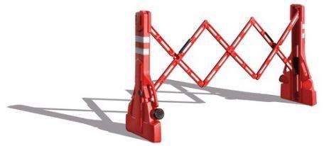 Barrière extensible à rangement intégré - Voirie-Signalisation
