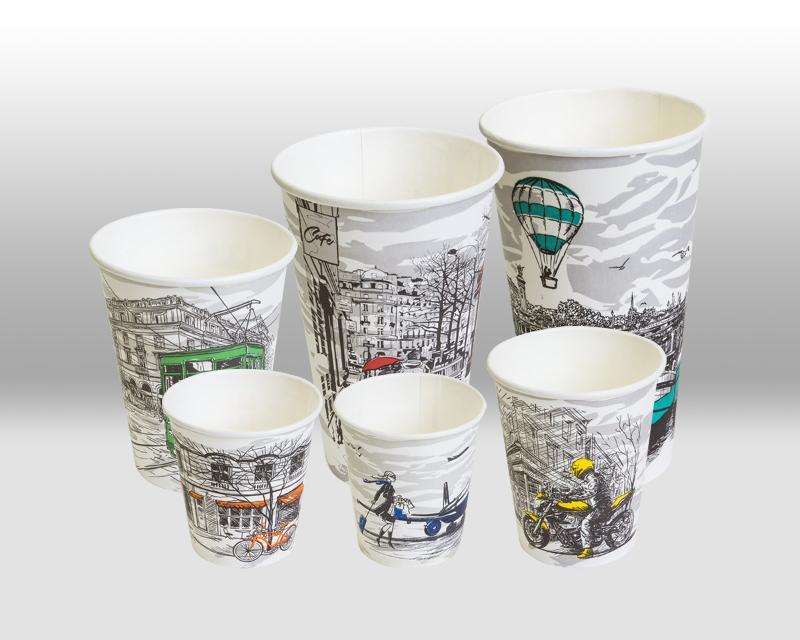 Paper Cups The Big City Life - PAPER CUPS