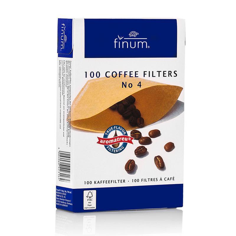 Coffee Filters - FSC-certified, unbleached paper