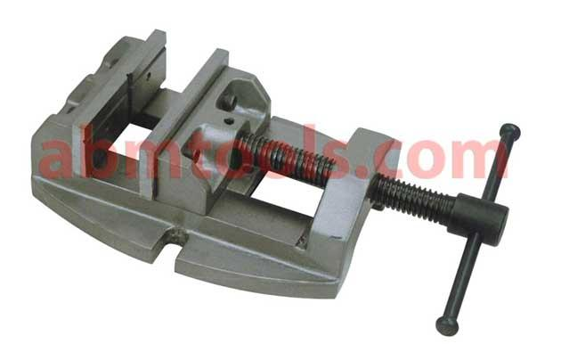 Drill Press Vice Precision - Drill press vise holds fast with its forged steel jaws to reduce vibration when