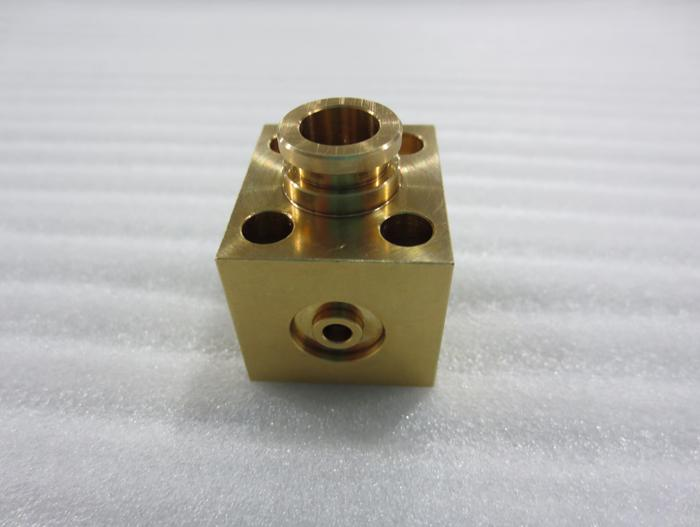 cnc machining service for Copper parts - null
