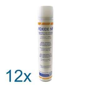 FOXIDE NF ct 12 aéro 1000cc - Laque insecticide spéciale rampants