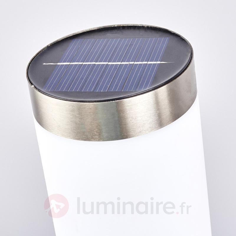 Borne lumineuse LED solaire Jolla - Toutes les lampes solaires