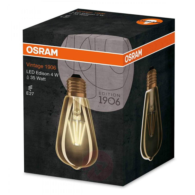 E27 4 W 824 LED rustic bulb Vintage Edition 1906 - light-bulbs
