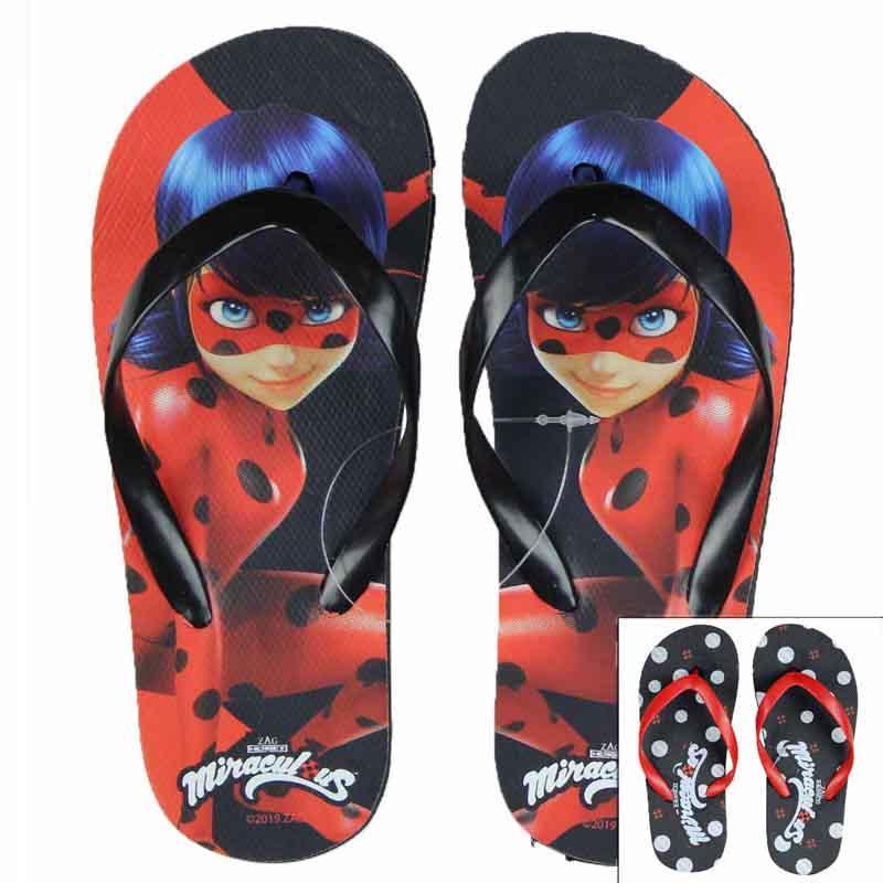 Wholesaler flip flop licenced Miraculous kids - Flip Flop