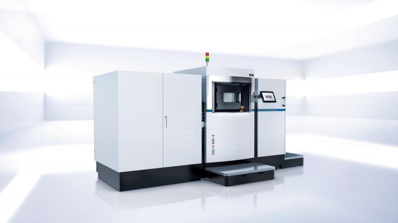 EOS M 400-4 - Ultraschnelles Vier-Laser-System zur Additiven Fertigung von Metallteilen