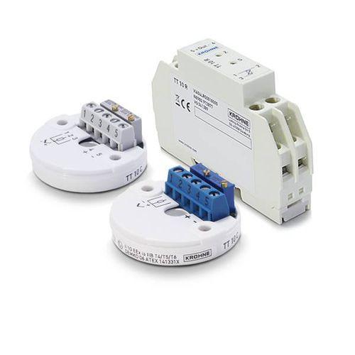 OPTITEMP TT 10 C/R - Transmetteur de température en tête de sonde / Pt100 / analogique / 4 - 20 mA