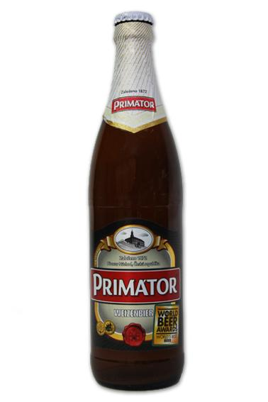 PRIMATOR Weizenbier White Beer 5% alcohol - null