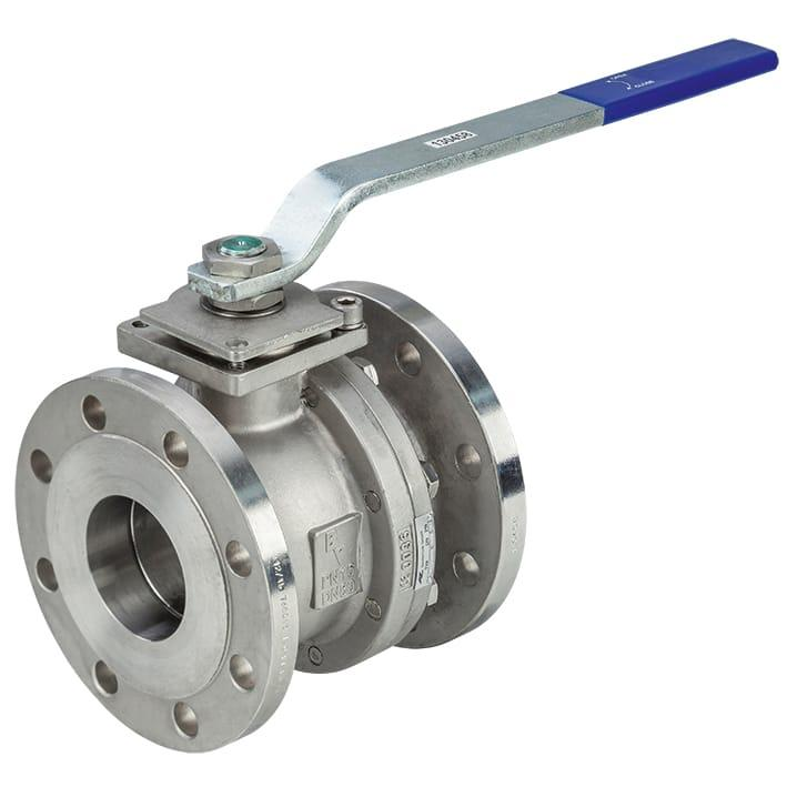 Ball Valves - Flanged ball valve made of stainless steel KS90 PN16 / KS91 PN40