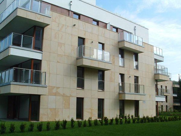 Platten für Fassaden