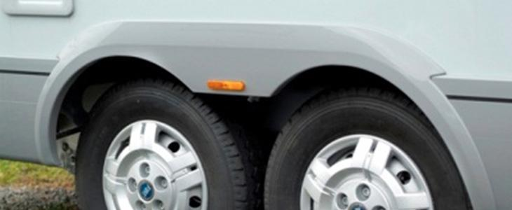 Wheel arch cover Running protection - Wheel arch cover ABS/PMMA