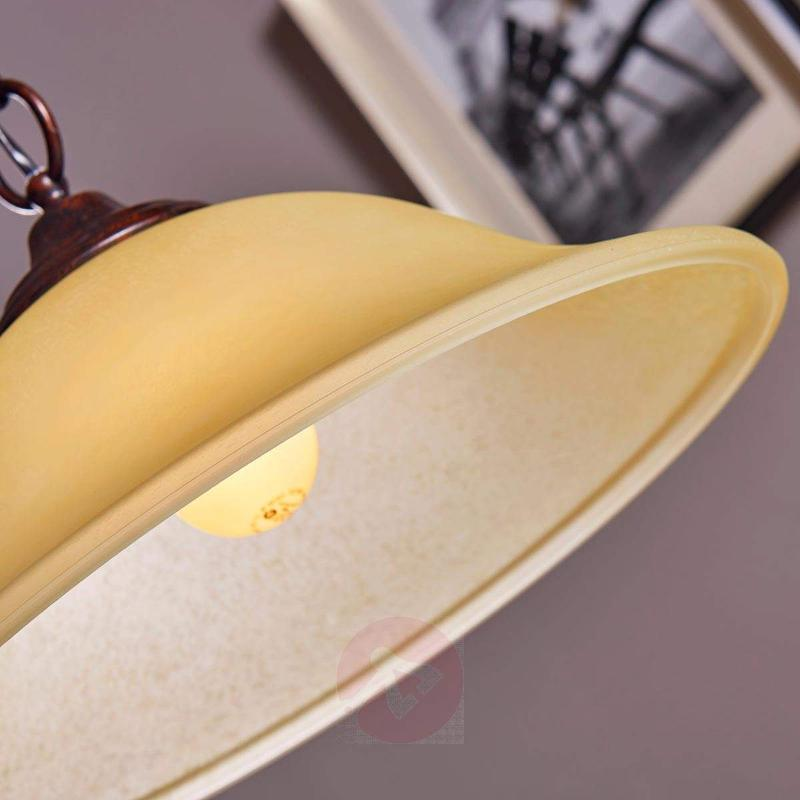 Pretty pendant light Svera, country house style - Pendant Lighting