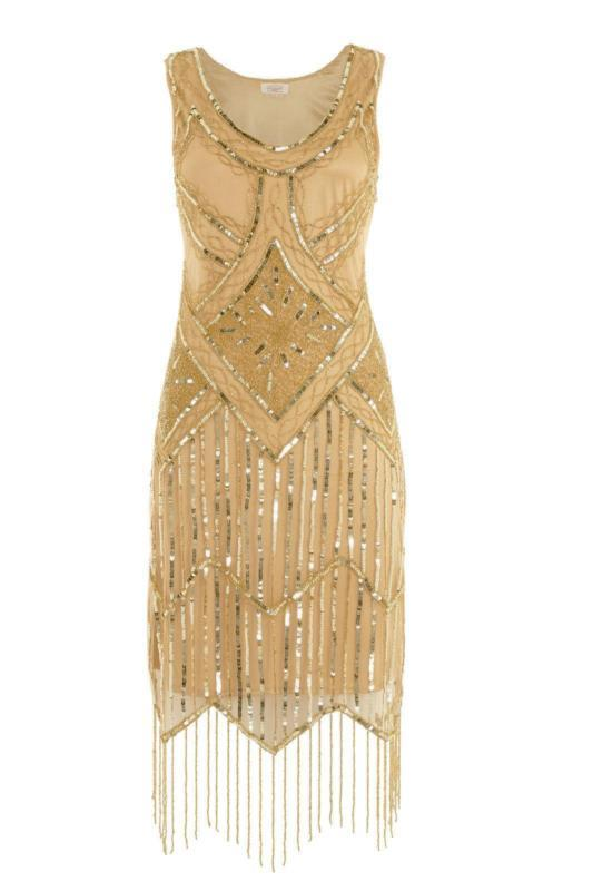 Beaded Sequin Flapper Dresses - Manufacturer and Exporter | Wholesale Supplier | India