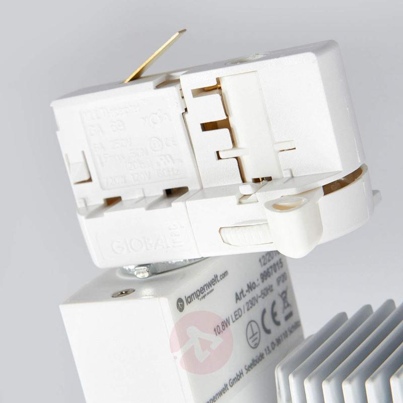 LED spotlight Niels, 3-circuit track system - 3-Phase Track