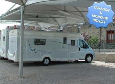 Abri camping-car  - Métal