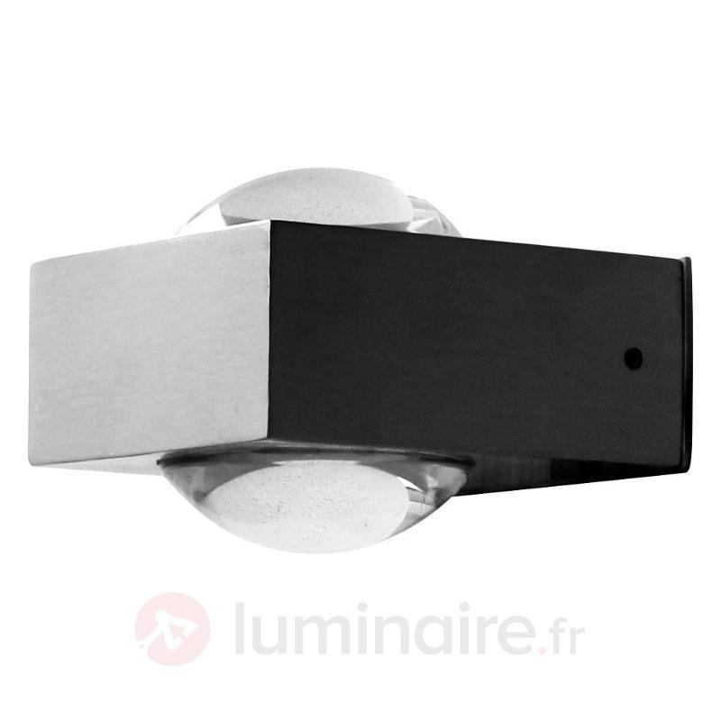 Applique d'extérieur Crystal inox avec LED - Appliques d'extérieur LED