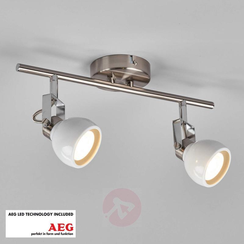 2-bulb LED spotlight Nima - indoor-lighting