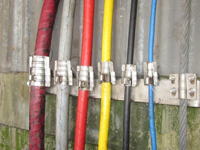 Uchwyt do kabli szybowych - Typ 3-201 do 3-212