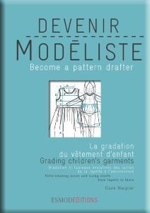 Esmod Editions - La Gradation du Vêtement d'Enfant - Livres / Gamme coloris