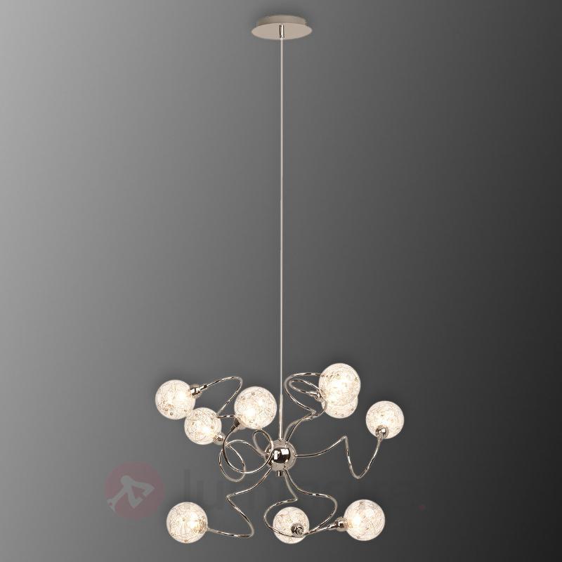 Joya - suspension à neuf lampes qui a du peps - Cuisine et salle à manger