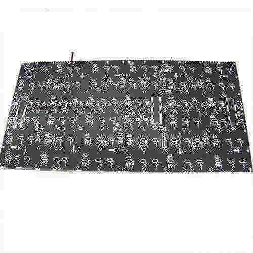 placa de circuito de aceite negro - ZSLPCB-02