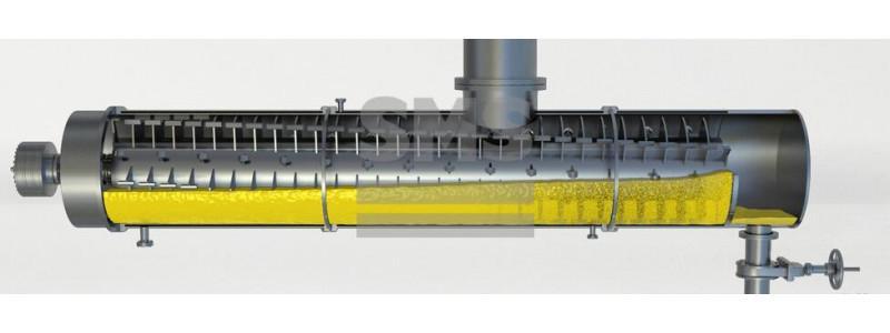 Processeur grand volume avec un arbre- Reactotherm - Processeur grand volume avec un seaul arbre- Reactotherm