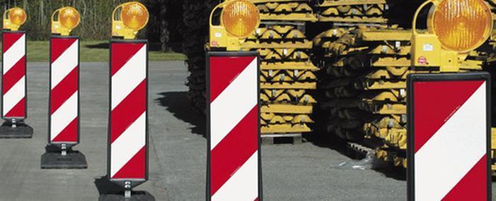 Signalisation lumineuse de chantiers - Balise défilement - null