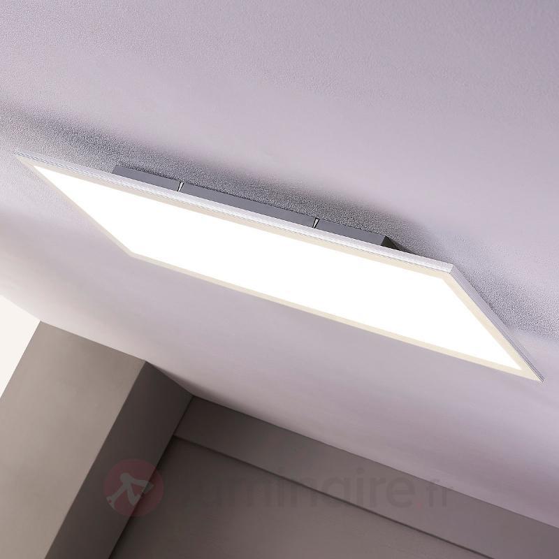 Panneau LED Liv de forme allongée, blanc neutre - Plafonniers LED